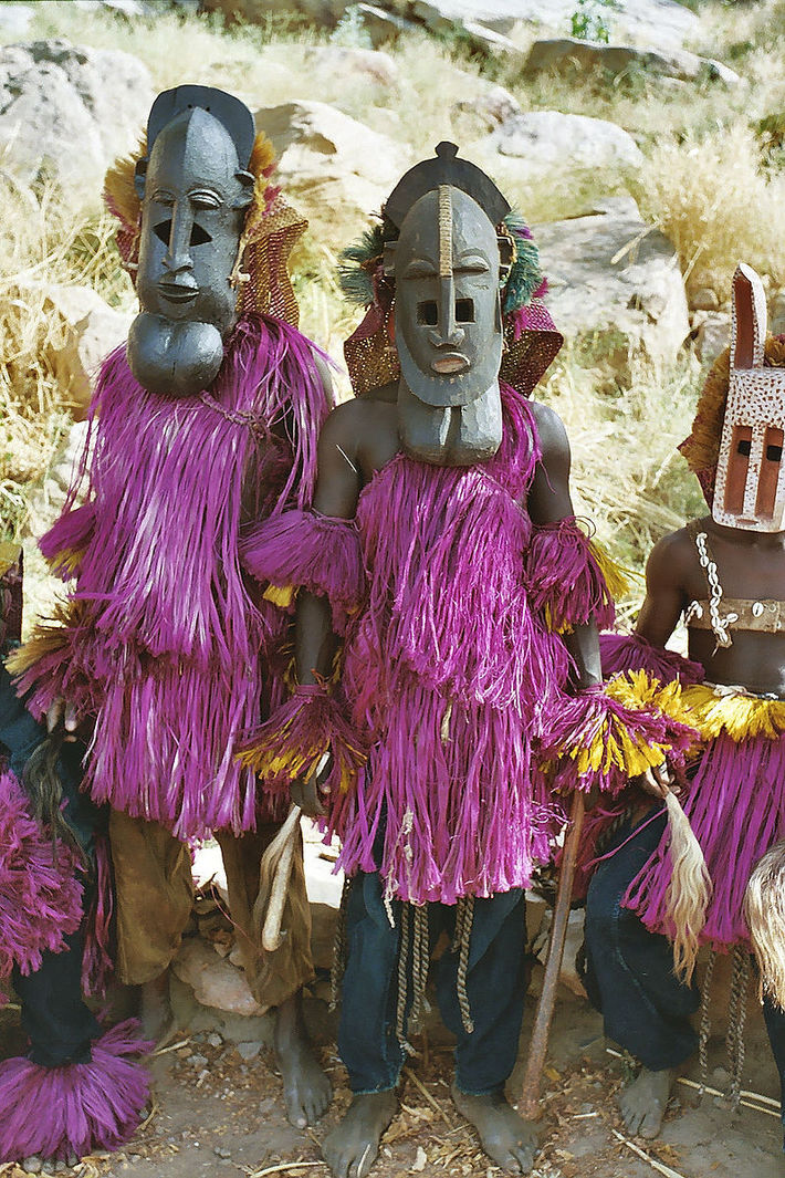 Dogon Tribe Ceremonial Dress
