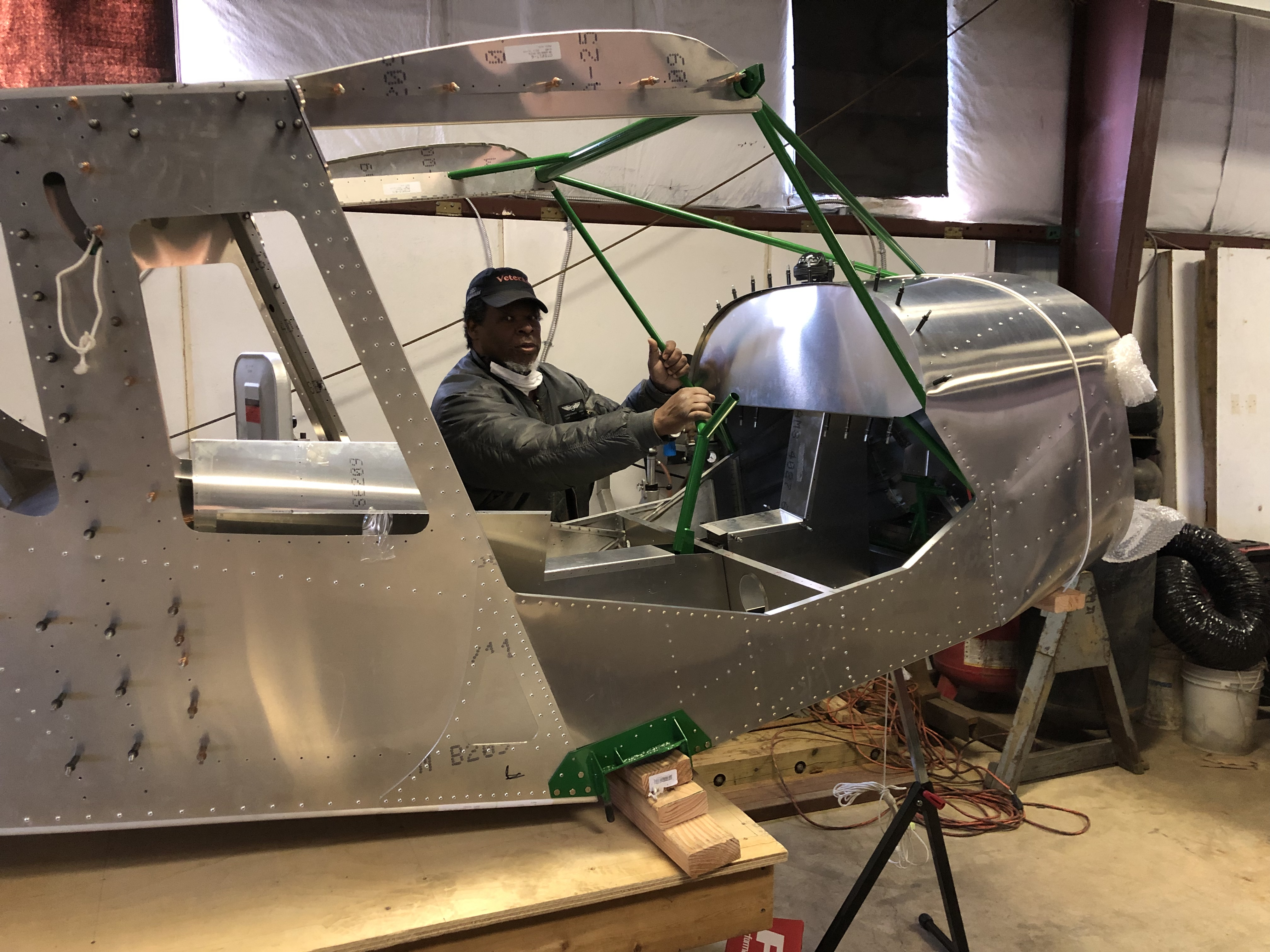 Zenith CH 750 Cruzer fuselage