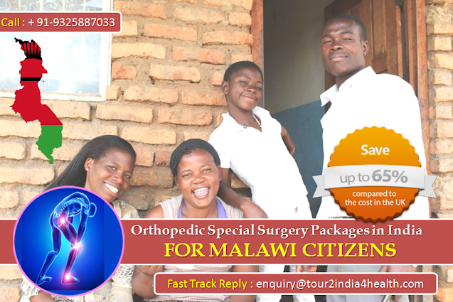 Medical Tourism to India from Malawi witnessing an upheaval owing to Orthopedic Special Surgery Packages for Malawi Citizens