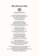 The Titanium Vest-A Poem