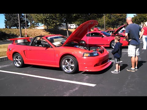 2014 Bethany Village Mustang Show Checking Out A Fox Body Cobra