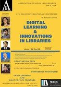 6th Online International Conference on Digital Learning and Innovation in Libraries (ICDLIL-2020)
