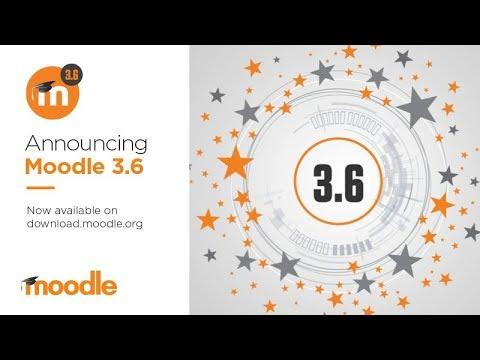 ¿Deseas conocer las novedades que trae Moodle 3.5 y 3.6?