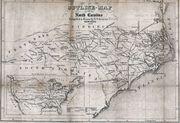 1854 map nc