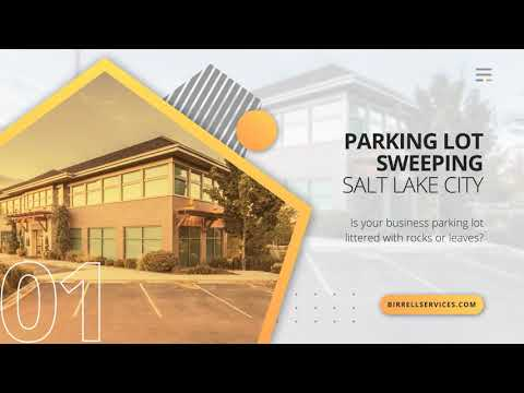 Birrell Services: Parking Lot Sweeping Salt Lake City