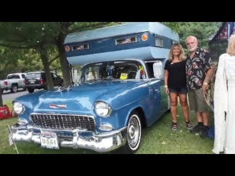 A Walk About John and Kimberly's 1955 Chevy Shack