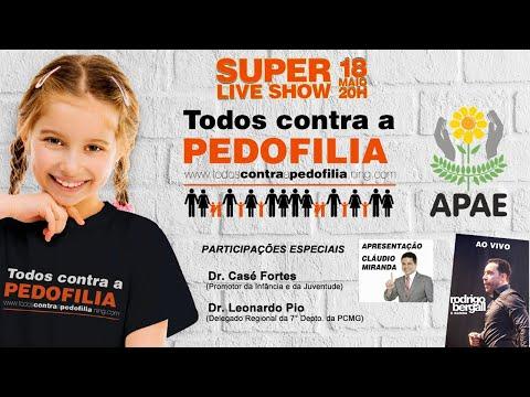 Live - Campanha Todos Contra a Pedofilia (Show do Rodrigo Bergal)