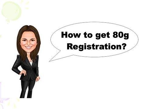 80g Registration - How to get 80g Registration certificate