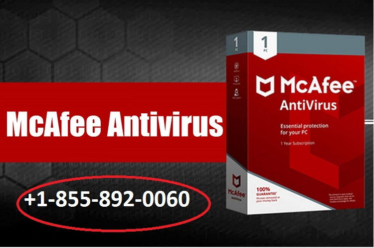 McAfee Antivirus Number +1-855-892-0060 in USA