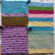 4 Striped squares
