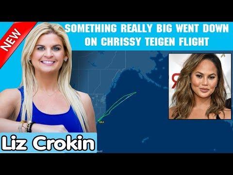 Liz Crokin 12/19/2018 — SOMETHING REALLY BIG WENT DOWN ON CHRISSY TEIGEN FLIGHT