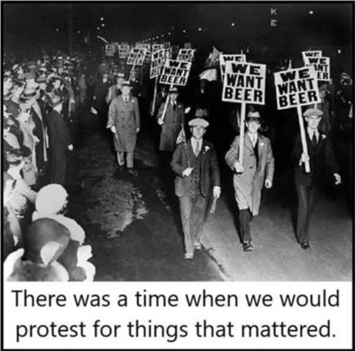 When protests mattered