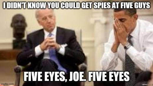The five eyes and how they spy on us