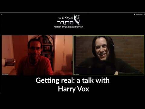 Getting real: a talk with Harry Vox