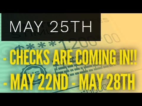 Stimulus Update May 25th: Rep Payee, SSI, SSDI Deposits