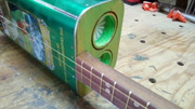 Olive Oil Can 3-string Guitar
