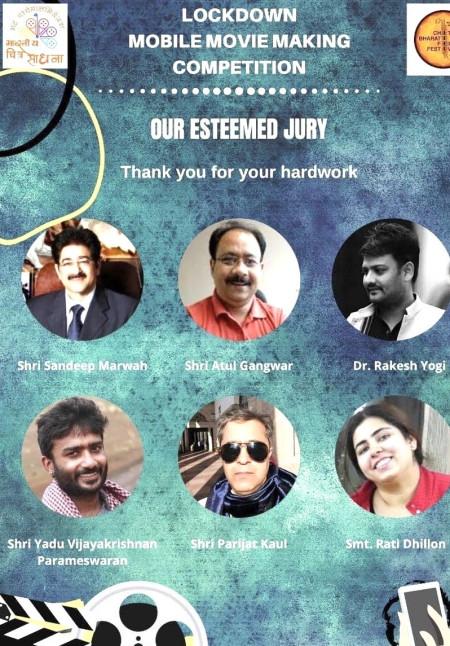 Sandeep Marwah on The Jury of Bhartiya Chitra Sadhna Film Festival