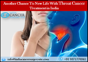 Another Chance To New Life With Throat Cancer Treatment in India