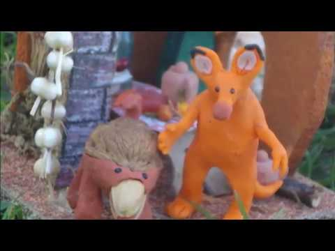 El Nutpet. El Libro de los Xiyos (outdoors stop motion clay animation)