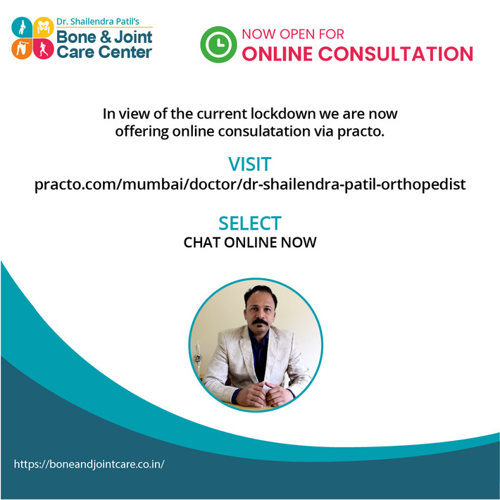 Dr. Shailendra Patil Mulund In Lockdown Now Online Consultation Available