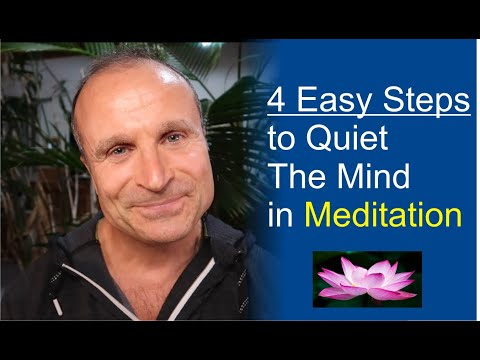 The Easiest Way to Quiet The Mind & Experience Stillness in Meditation