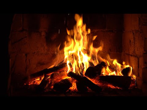 Instrumental Christmas Music with Fireplace 24/7 - Merry Christmas!