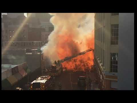 LAFD Chief Discusses Major Emergency Fire in Downtown L.A. that Injured 12 Firefighters