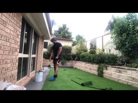 Professionally Installed Artificial Grass - Ecolawns Australia