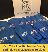 Visit Yhtack in Stitches for Quality Embroidery & Monogram Services