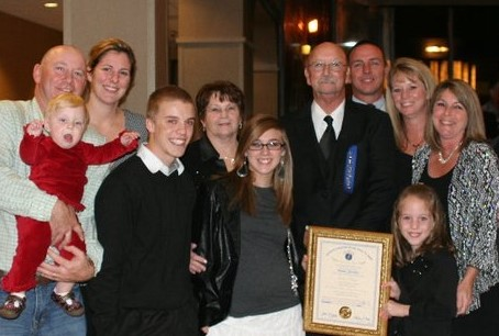 Family at the Hall Of Fame 2