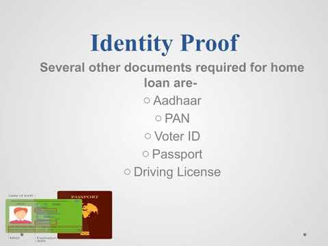 Documents Required for Home Loan