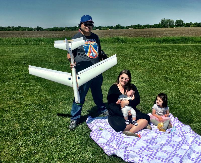 Tim Mok and family