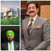 Sandeep Marwah First From Media Industry To The post of Chancellor