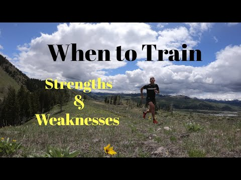 When to Train Your RUNNING Strengths and Weaknesses (+ Salomon S Lab Sense 6 SG)