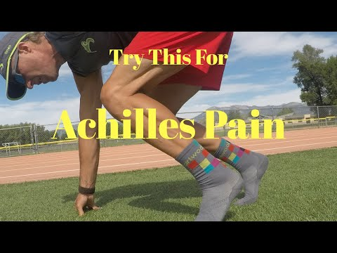 Pain in Your ACHILLES when RUNNING?  Try this simple solution.