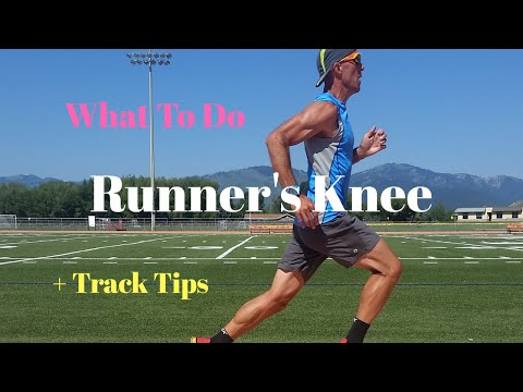 RUNNER'S KNEE: What to do + Track Tips (+Nike Zoom Victory shoe)
