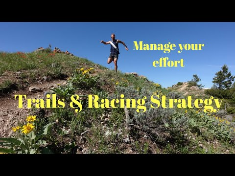 Running Trails and Race Strategy: Managing Your effort (+ Salomon S Lab Sense 6 SG shoe)