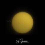 Solen med en ny solfläck