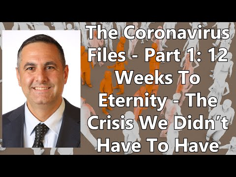 The Coronavirus Files - Part 1: 12 Weeks To Eternity - The Crisis We Didn't Have To Have