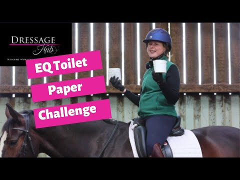 The Equestrian Toilet Paper Challenge For All Riders
