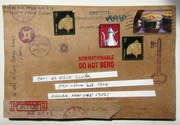 Mail art by Allison Anne (Minneapolis, Minnesota, USA)