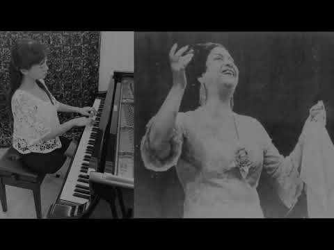 Tribute to oum Kalthoum - Piano Cover - 向Om Kolthoum 致敬 - 鋼琴