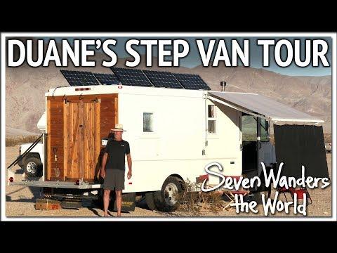 Duane's Step Van RV Tour E491