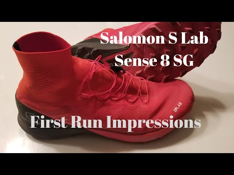 Salomon S Lab Sense 8 SG: First Run Impressions (WOW it's good. Really good!)