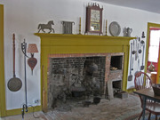 Completed original kitchen fireplace
