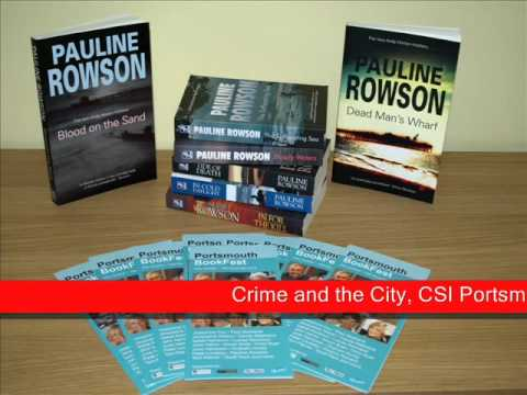 Pauline Rowson in an interview with Angel Radio about her forthcoming event Crime and the City, CSI Portsmouth