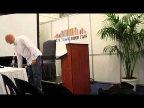 Murder at Cape Town Book Fair James Fouche.wmv