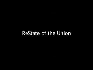 ReState of the Union