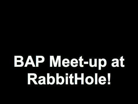 BAP Meet-up at RabbitHole!