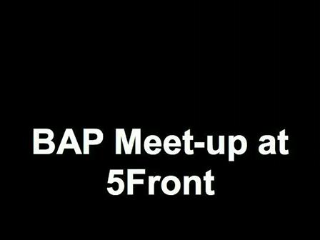 BAP Meet-up at 5Front